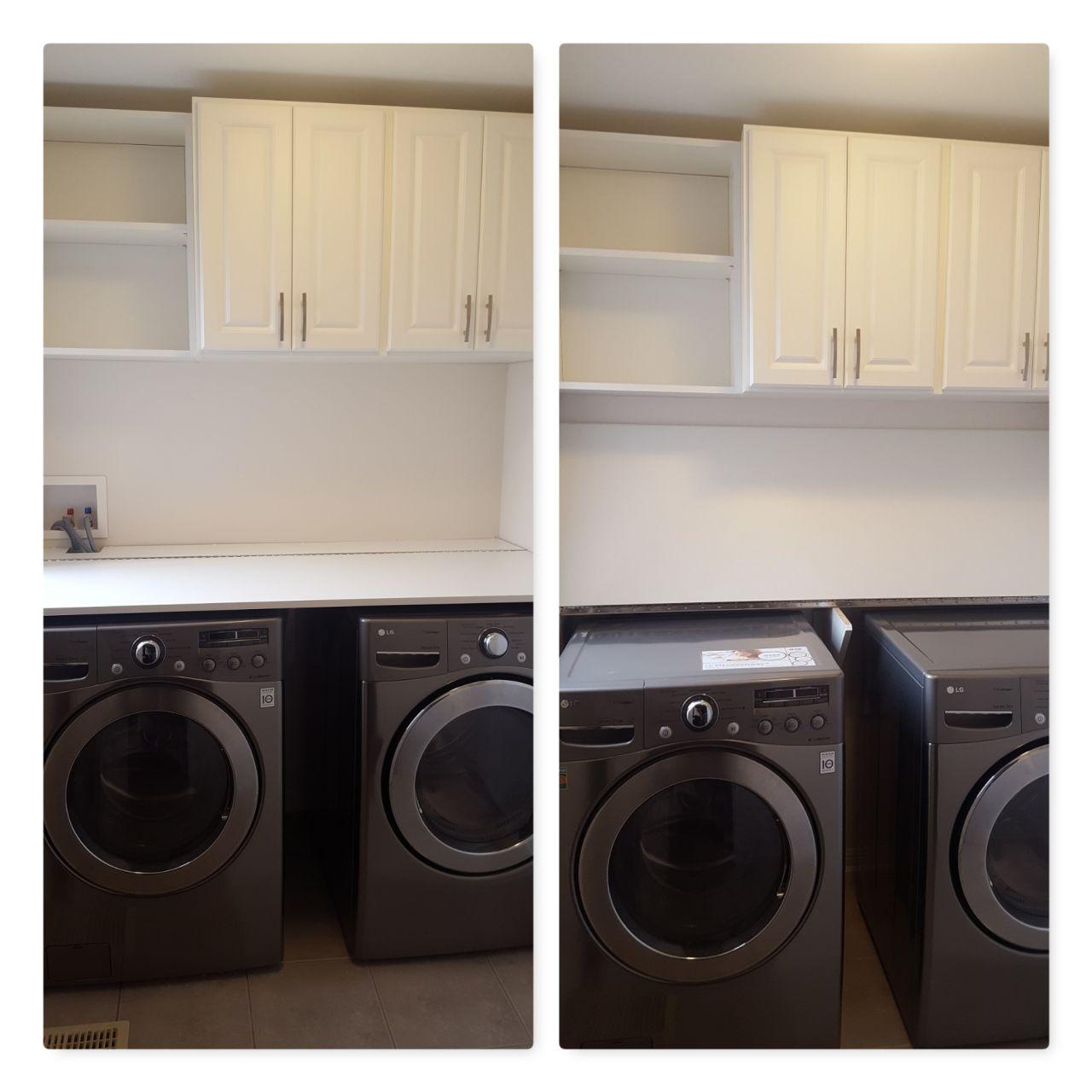 Custom Laundry Room Storage Units